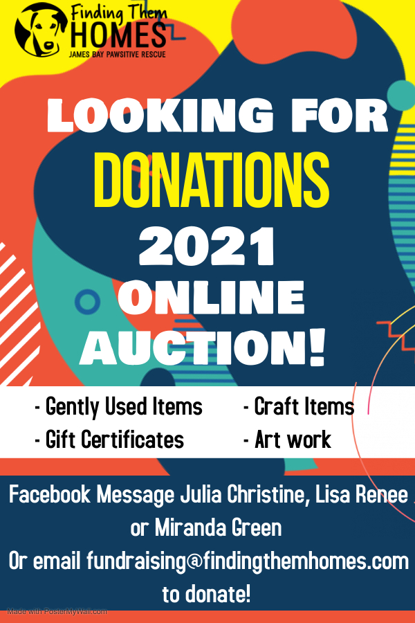 2021 Annual Online Auction!